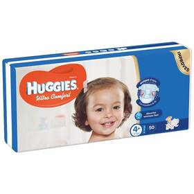 Huggies Ultra Comfort Jumbo vel. 4+, 10-16kg, 50ks