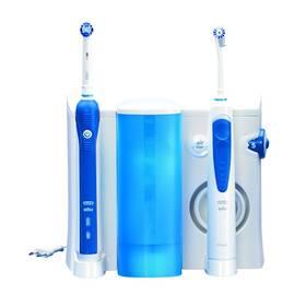 Oral-B Oxyjet+3000OC20 bílý/modrý Gillette Fusion Proglide Flexball + gel (Dárková edice JUSTICE LEAGUE) (zdarma) + Doprava zdarma