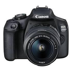 Canon EOS 2000D + 18-55 IS II + 50 1.8 S (2728C022AA) černý + Doprava zdarma
