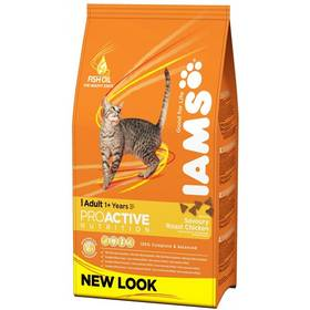 Granule Iams Cat rich in Chicken 3 kg
