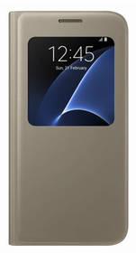 Samsung S-View pro Galaxy S7 (EF-CG930P) (EF-CG930PFEGWW) zlaté