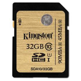 Kingston SDHC 32GB UHS-I U1 (90R/45W) (SDA10/32GB)