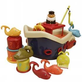 Loď s kapitánem B-toys Fish & Splish