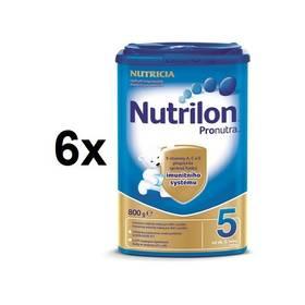 Nutrilon 5 Pronutra, 800g x 6ks + Doprava zdarma