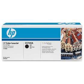 HP CE740A, 7K stran - originální (CE740A) černá + Doprava zdarma