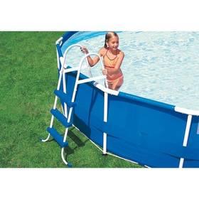 Schodíky do bazéna Intex pro nadzemní bazény o výšce 1,07 m