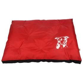 Samohýl Staford nylon - červeno/černá 120cm čierna/červená