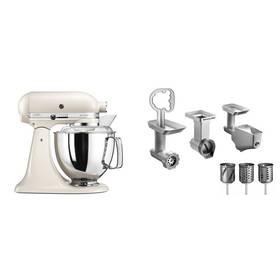 Set KitchenAid - kuchyňský robot 5KSM175PSELT + FPPC balíček s příslušenstvím + K nákupu poukaz v hodnotě 3 000 Kč na další nákup + Doprava zdarma