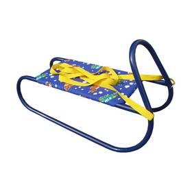 Acra Dětské kovové modré + Reflexní sada 2 SportTeam (pásek, přívěsek, samolepky) - zelené v hodnotě 58 Kč