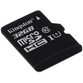 Paměťová karta Kingston MicroSDHC 32GB UHS-I U1 (45R/10W) (SDC10G2/32GBSP)