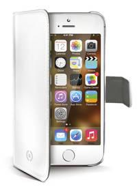 Celly Wally pro iPhone 5/5s/SE (WALLY185WH) bílé