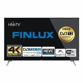 Finlux 65FUA8061 černá + Doprava zdarma