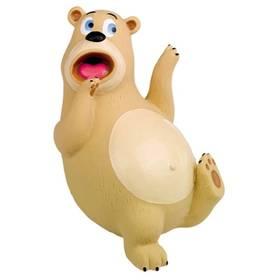 Nobby Bear latexový medveď 17,5 cm béžová