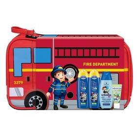 Dárkový balíček Schauma Firemen Boys (šampon, sprchový gel, zubní pasta)