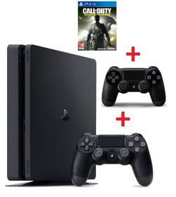 Sony PlayStation 4 SLIM 1TB + Call of Duty: Infinite Warfare (PS719856856) černá + Doprava zdarma