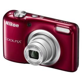 Nikon Coolpix A10 červený + Doprava zdarma