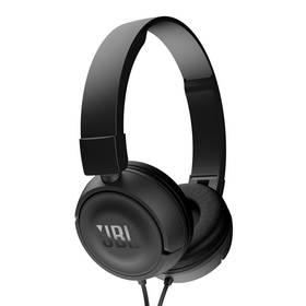 JBL T450 (JBL T450 BLK) černá (Náhradní obal / Silně deformovaný obal 2300011673)