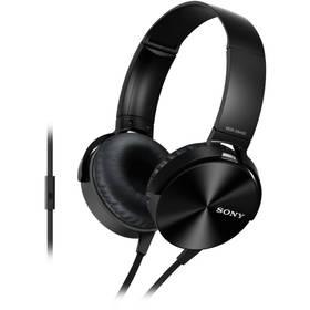 Sony MDRXB450APB.CE7 (MDRXB450APB.CE7) černá + Doprava zdarma