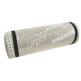LIFEFIT Yoga Mat Exkluziv 100x60x1cm šedá