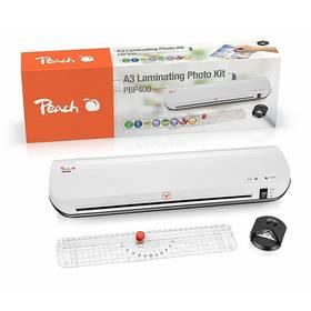 Peach 4v1 Laminating Kit PBP400, set laminátor, řezačka, zastřihovač rožků (510850) (vrácené zboží 8800701985)