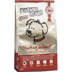 Barking Heads Turkey Delight GRAIN FREE 12 kg + Antiparazitní obojek za zvýhodněnou cenu + Doprava zdarma