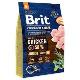 Brit Premium Dog by Nature Junior M 3 kg