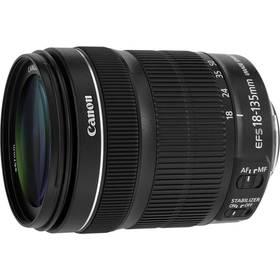 Canon EF-S 18-135mm f/3.5-5.6 IS STM + EW73B + LC kit černý + Doprava zdarma