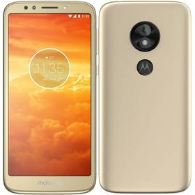 Motorola E5 Play Dual SIM (MOTOE5PLAYGOLD) zlatý SIM s kreditem T-Mobile 200Kč Twist Online Internet (zdarma)Software F-Secure SAFE, 3 zařízení / 6 měsíců (zdarma)