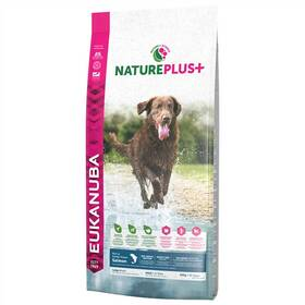 Eukanuba Nature Plus+ Adult Large frozen Salmon 10 kg