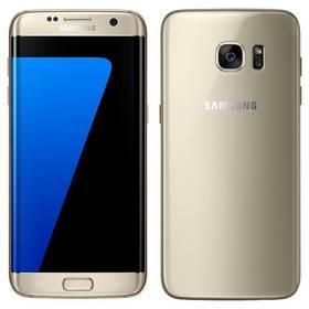 Samsung Galaxy S7 edge 32 GB (G935F) (SM-G935FZDAETL) zlatý + Voucher na skin Skinzone pro Mobil CZ v hodnotě 399 Kč jako dárek+ Software F-Secure SAFE 6 měsíců pro 3 zařízení v hodnotě 999 Kč jako dárekPaměťová karta Samsung Micro SDHC EVO 32GB class 10