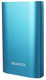 ADATA A10050QC 10050mAh, s funkcí rychlonabíjení (AA10050QC-USBC-5V-CBL) modrá