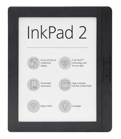 Pocket Book 840 InkPad 2 (PB840-2-M-WW) šedá + Doprava zdarma