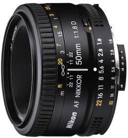 Nikon NIKKOR 50MM F1.8 AF D černý + Doprava zdarma