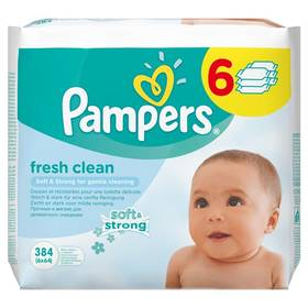 Pampers Baby Fresh clean 384ks