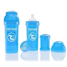 Dojčenská fľaška Twistshake antikoliková 260ml, blue modrá