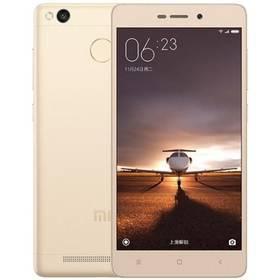 Xiaomi Redmi 3S CZ LTE 32 GB (472553) zlatý + Voucher na skin Skinzone pro Mobil CZ v hodnotě 399 Kč jako dárek + Doprava zdarma