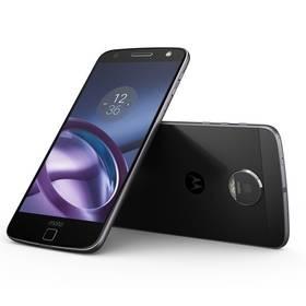 Lenovo Moto Moto Z Dual SIM (SM4444AE7T3) černý SIM s kreditem T-mobile 200Kč Twist Online Internet (zdarma) + Doprava zdarma
