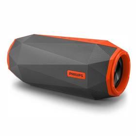 Philips SB500M/00 šedý/oranžový Nabíječka baterií Philips SCB 1290 P (zdarma) + Doprava zdarma