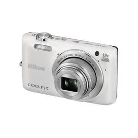 Digitální fotoaparát Nikon Coolpix S6800 bílý