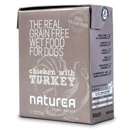 Naturea GF Dog - Chicken, Turkey 375g