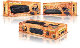 Connect IT Biohazard Gaming Combo (klávesnice + myš + headset) (CI-1380) černý