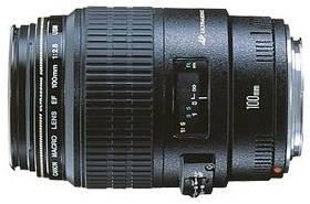 Canon EF 100mm f/2.8 USM MAC makroobjektiv (4657A018AA) černý + Doprava zdarma