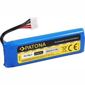 PATONA pre reproduktor JBL Flip 4 3000mAh 3,7V Li-Pol GSP872693 01 (PT6711) modrá