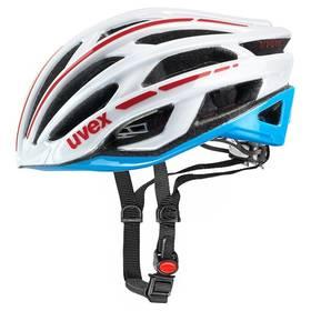 Uvex Race 5, vel. 52-56cm černá/bílá/modrá