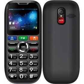 CUBE 1 S100 Senior Dual SIM (MTOSCUS100050) černý