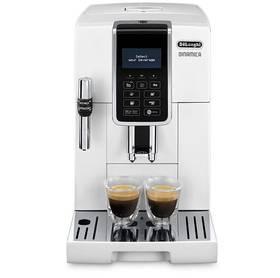 DeLonghi Dinamica ECAM 350.35W bílé Káva DeLonghi Kimbo Classic 250g zrnková (zdarma) + Doprava zdarma