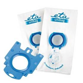 ETA UNIBAG startovací set č. 2 9900 68030 - 1 x adaptér + 2 x sáček 3 l bílá/modrá