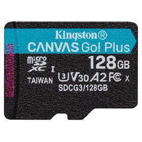Kingston Canvas Go! Plus MicroSDXC 128GB UHS-I U3 (170R/90W) (SDCG3/128GBSP)