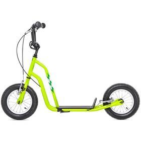 """Yedoo Basic Wzoom 12"""" zelená + Reflexní sada 2 SportTeam (pásek, přívěsek, samolepky) - zelené v hodnotě 58 Kč"""