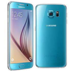 Samsung Galaxy S6 (G920) 32 GB (SM-G920FZBAETL) modrý + Voucher na skin Skinzone pro Mobil CZ v hodnotě 399 Kč jako dárek + Doprava zdarma